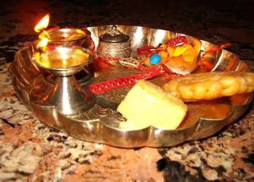 Rakhi Thali Decoration