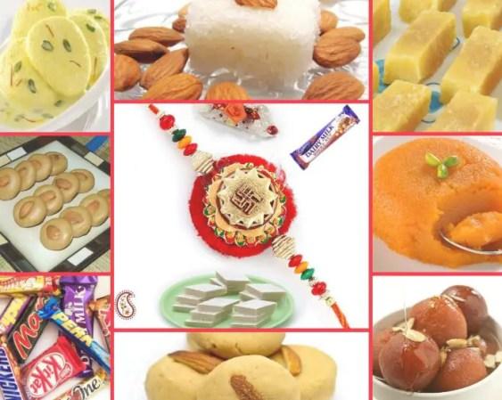 Sweets/Desert for Raksha Bandhan