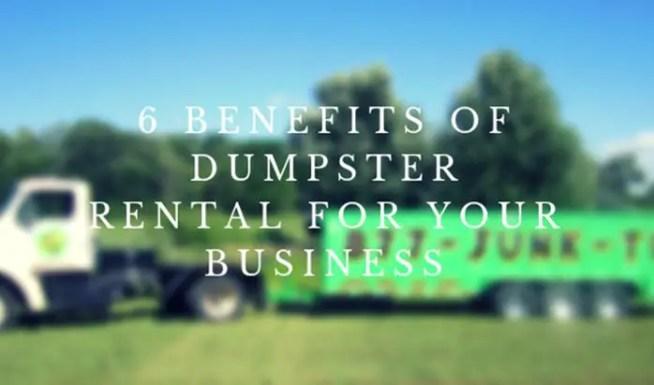 The Benefits of Dumpster Rentals