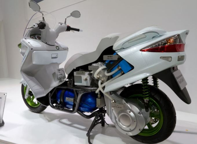 High Tech Modern Futuristic Two-Wheelers