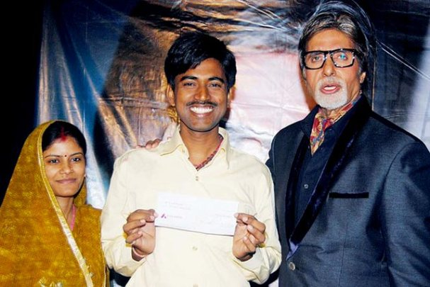 The KBC 2011 Winner Sushil Kumar