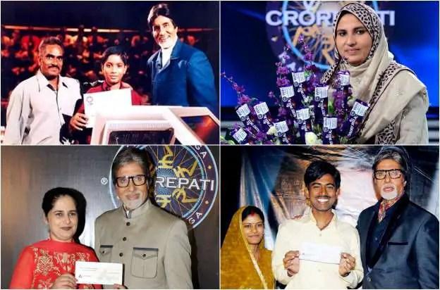 Kaun Banega Crorepati Winners List