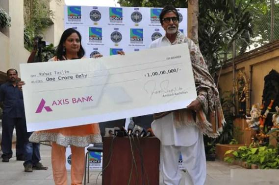 KBC Millionaire Rahat Taslim Giridih Jharkhand
