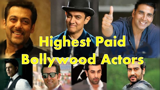 Highest Paid Actors In Indian Cinema