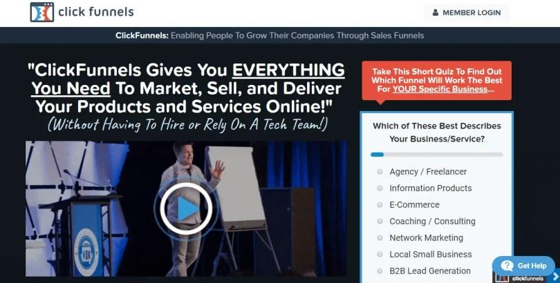 ClickFunnels - Marketing Funnels Made Easy