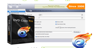 WinX DVD Copy Pro to Backup DVD