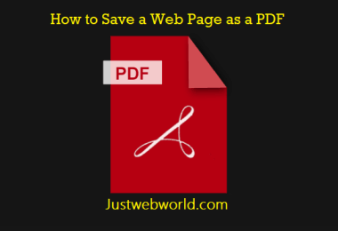 Convert Web Page to PDF for Free Online