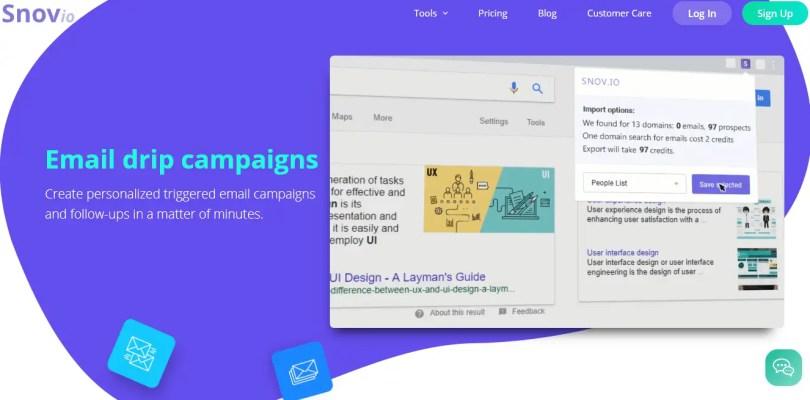 Snov.io Emails Drip Campaigns