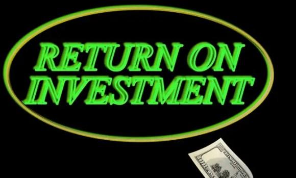 High Return of Investment