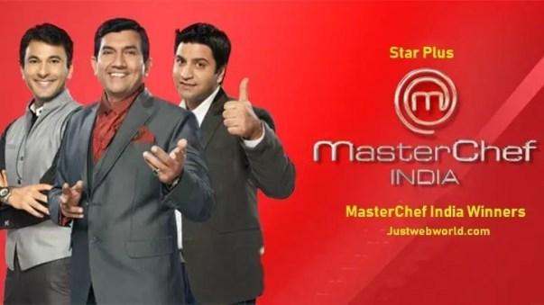 MasterChef India Winner List of All season