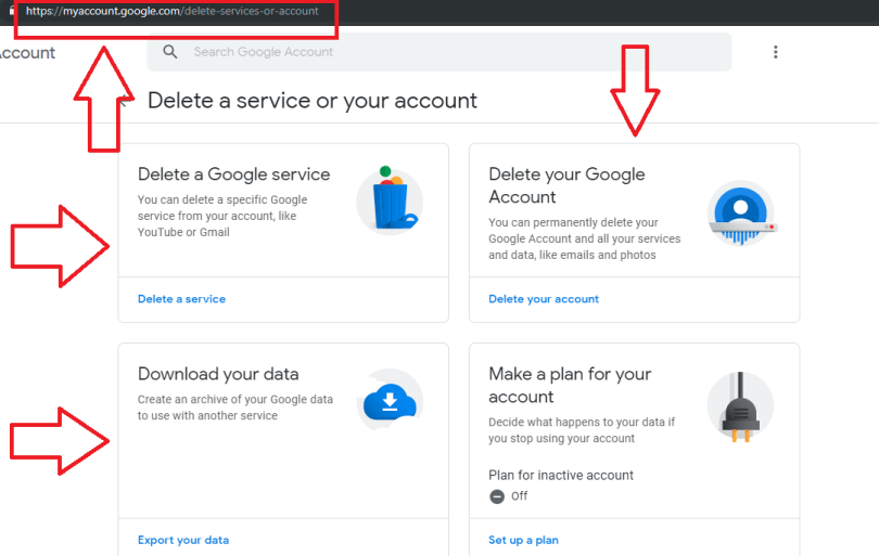 Delete Your Gmail Account and Save Your Data