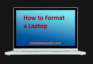 How to Format a Laptop Step-by-Step