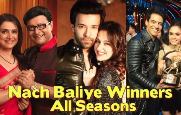 Nach Baliye Winners List of All Seasons