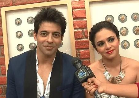Himmanshoo Malhotra and Amruta Khanvilkar