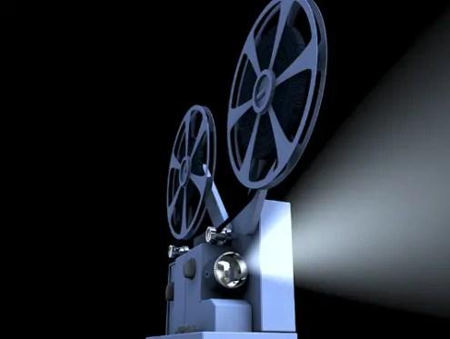 Watching Movie At Theatre