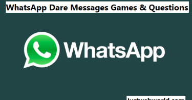 Best WhatsApp Dare Games