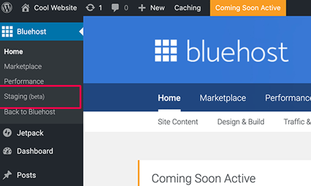 Bluehost cpanel login