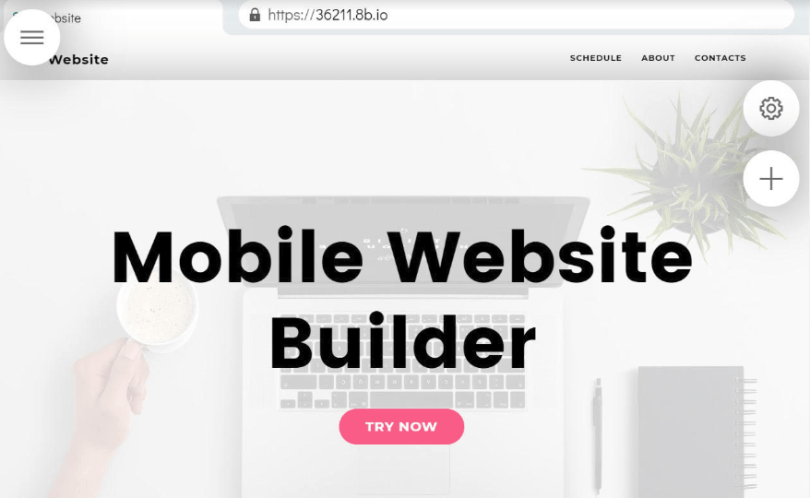 Free & Simple Website Builder