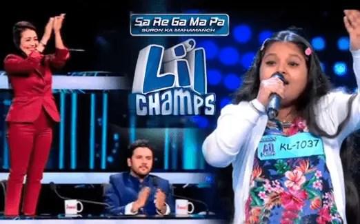 Zee TV Sa Re Ga Ma Pa Li'l Champs Winners