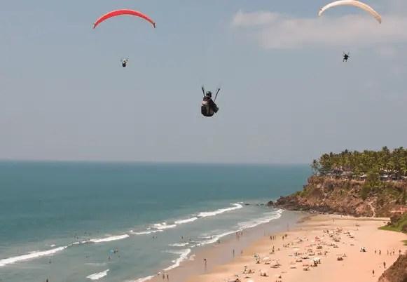 Varkala Beach, Thiruvananthapuram
