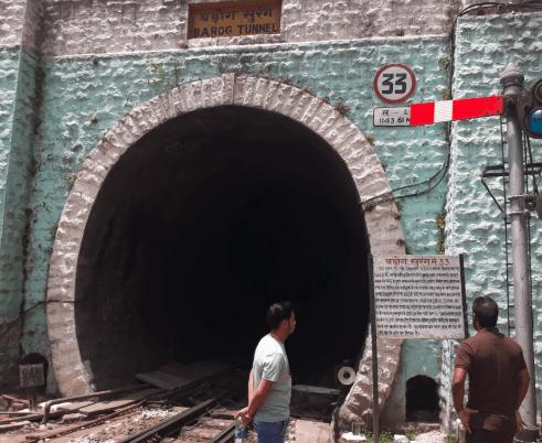 Barog Tunnel #33