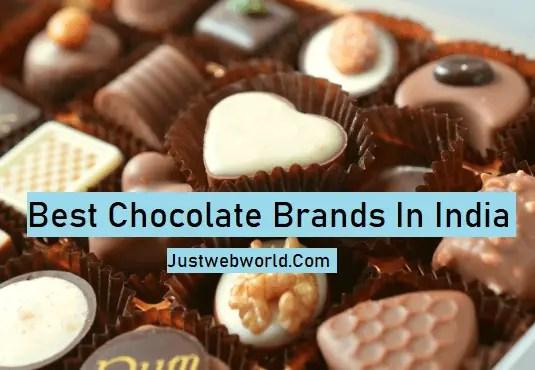 Popular Brands of Chocolates In India