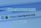 Install SSL Certificate on WordPress Website