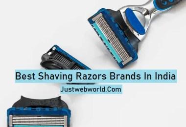 Shaving Razors Brands in India