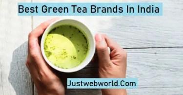 Best Green Tea Brands in India