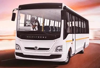BharatBenz bus