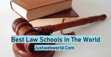 Top Law Schools In 2019