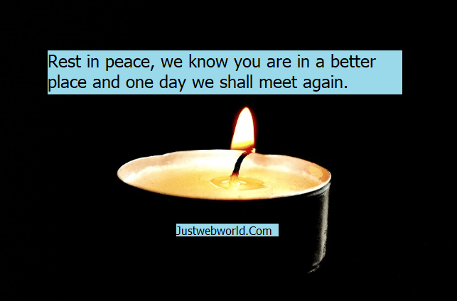 Rest In Peace Sayings and Rest In Peace Quotes