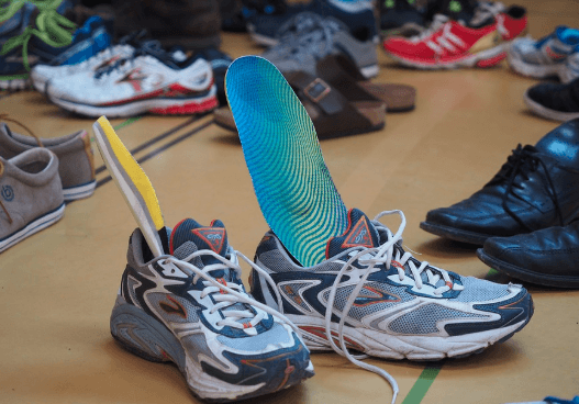 Shoe Insole Give Orthotic Feet Support