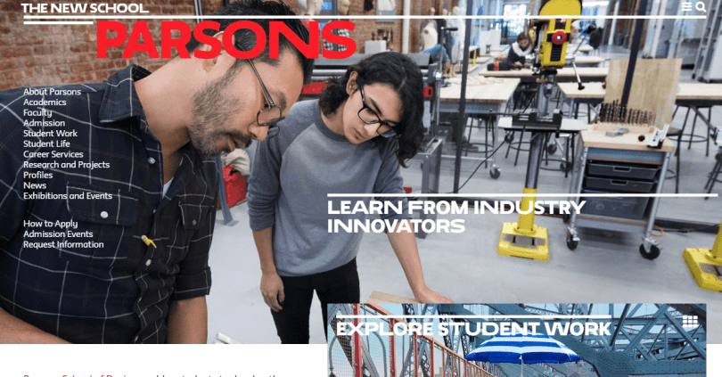 Parsons | Art and Design School in NYC