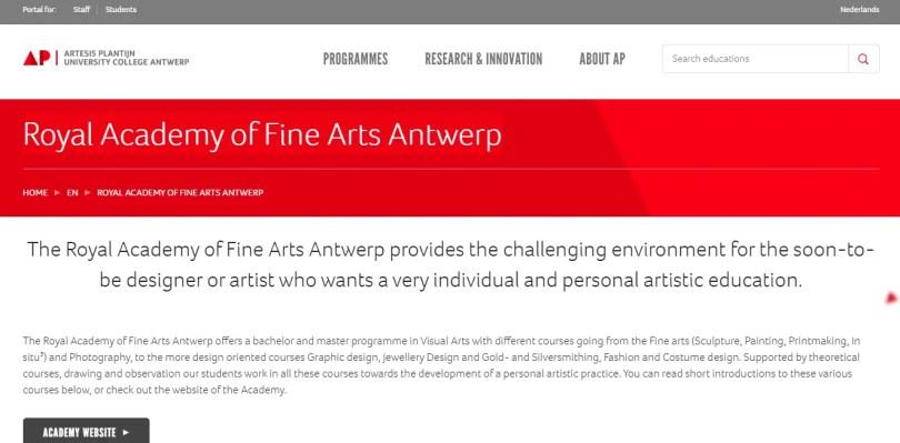 Royal Academy of Fine Arts Antwerp