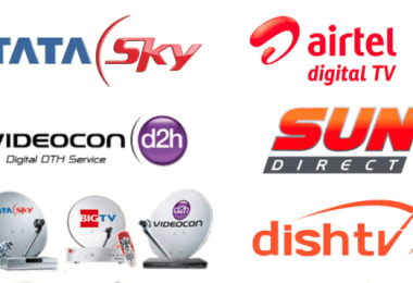 DTH Service Providers in India