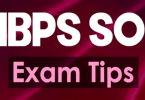 IBPS So Prelims Exam Practice Methods