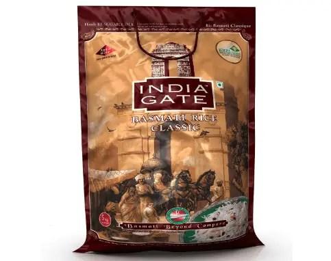 India Gate Basmati Rice Bag