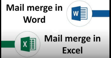 Mail Merge | Word & Excel