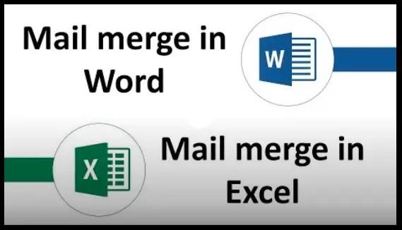 Mail Merge   Word & Excel