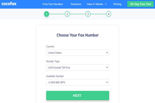 CocoFax - Fax from Google