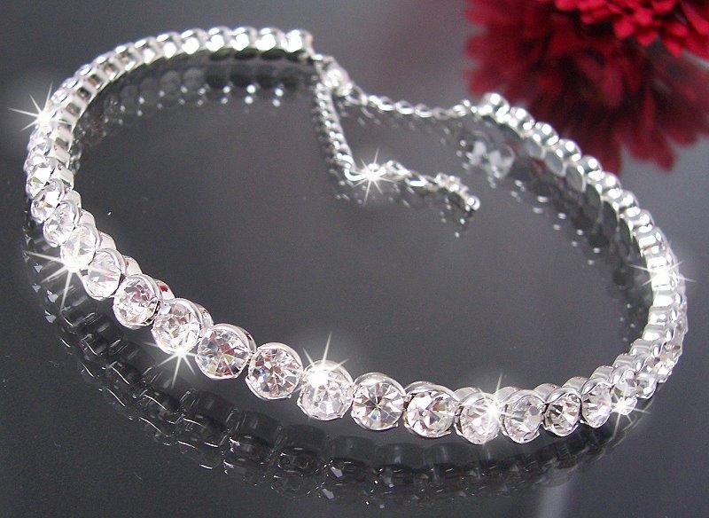 Collier Choker Kette Ohrringe Armband Strass Schmuck Braut Hochzeit Abiball VS4  eBay