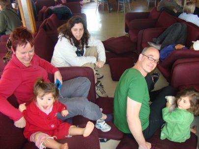 2008 Patagonië (en nee die kinderen zijn niet van ons, maar ze kleuren wel leuk)
