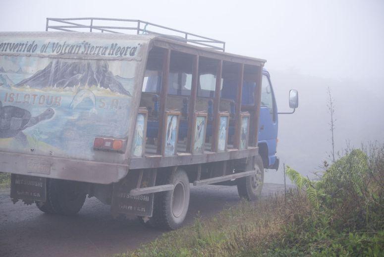 vervoer naar Sierra Negra