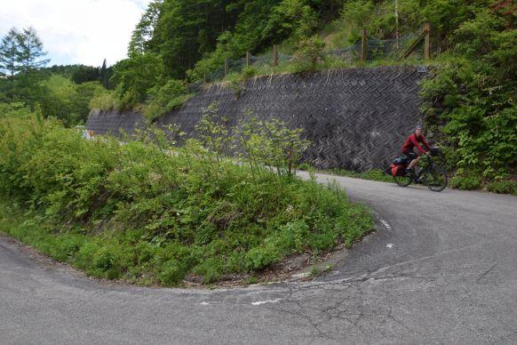 Het fietsen in de Japanse Alpen is goed bevallen.
