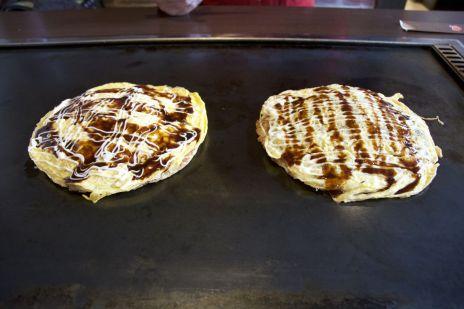 Okonomiyaki, Osaka versie