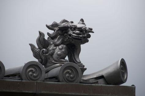 Ik ben bij kerken altijd dol op gargoyles en bij tempels vind ik dit soort beestjes altijd leuk.