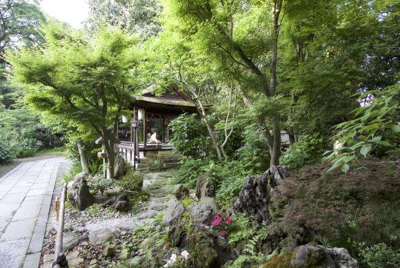 Tuinen aanleggen kunnen ze wel in Japan.