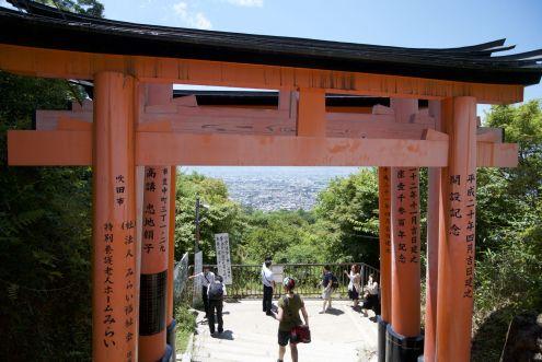 Neerkijkend op Kyoto
