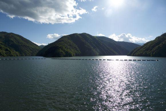 Stuwmeer Azusa lake.